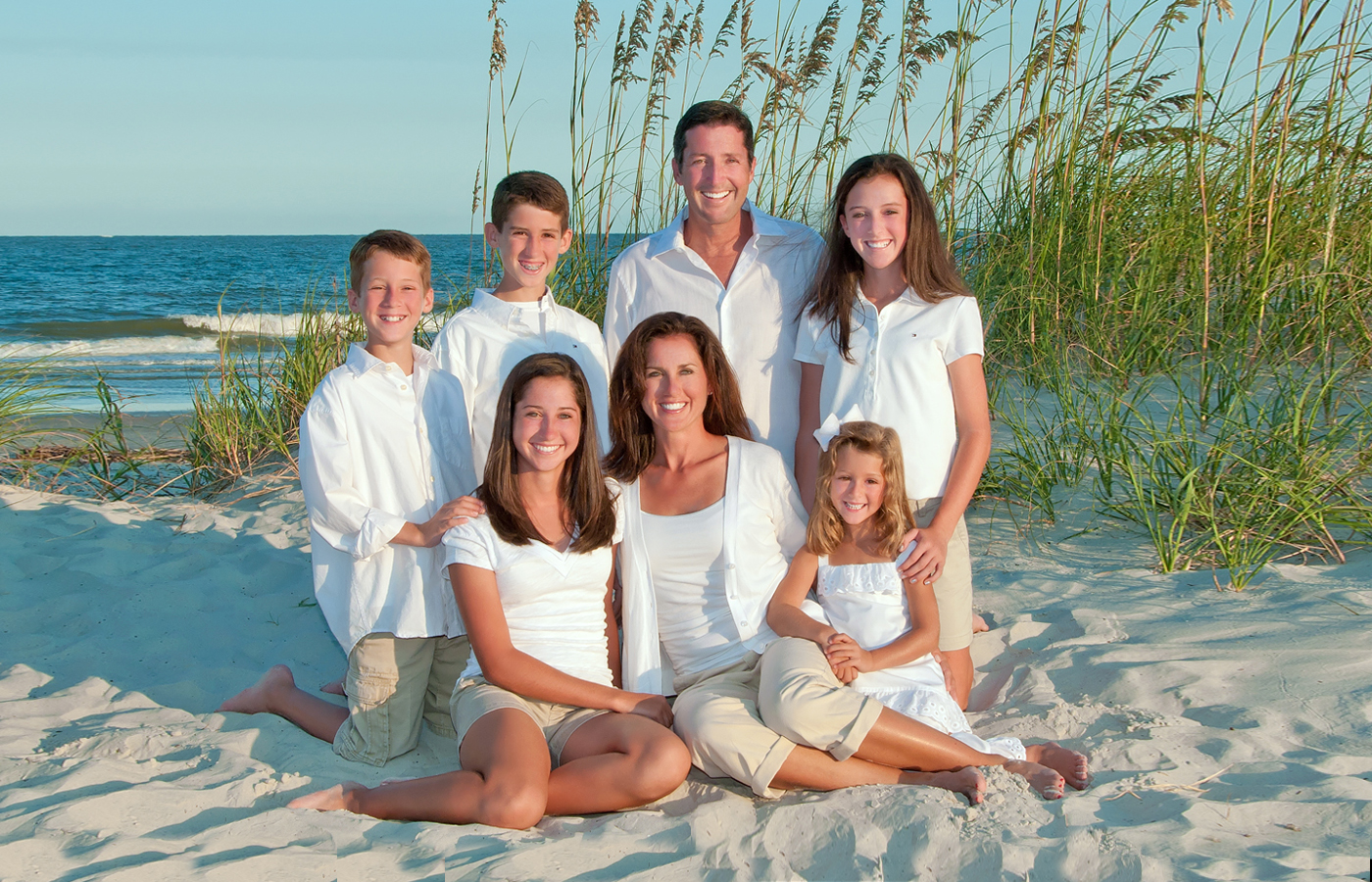 Family Beach Portraits By Hilton Head